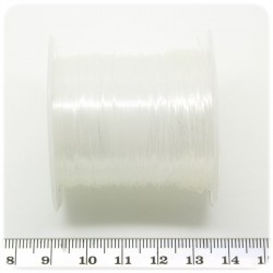 20 MT - FILO 0,6 MM NYLON TRASPARENTE - BOBINA LENZA DA PESCA CLEAR