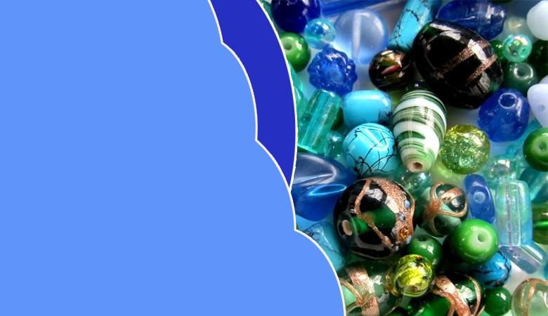Perline in vetro lampwork